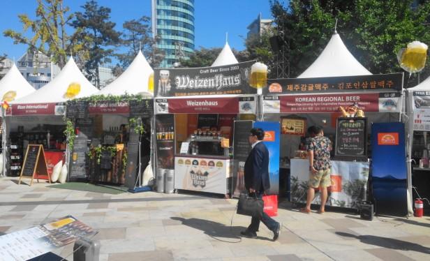 Great Korean Beer Festival 2015 craft beers