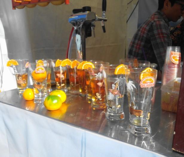 Great Korean Beer Festival 2015 Jejustien glasses