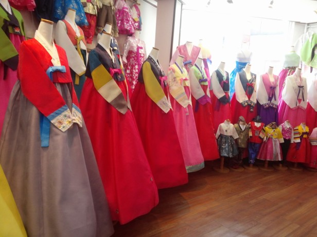 Hanbok Shopping