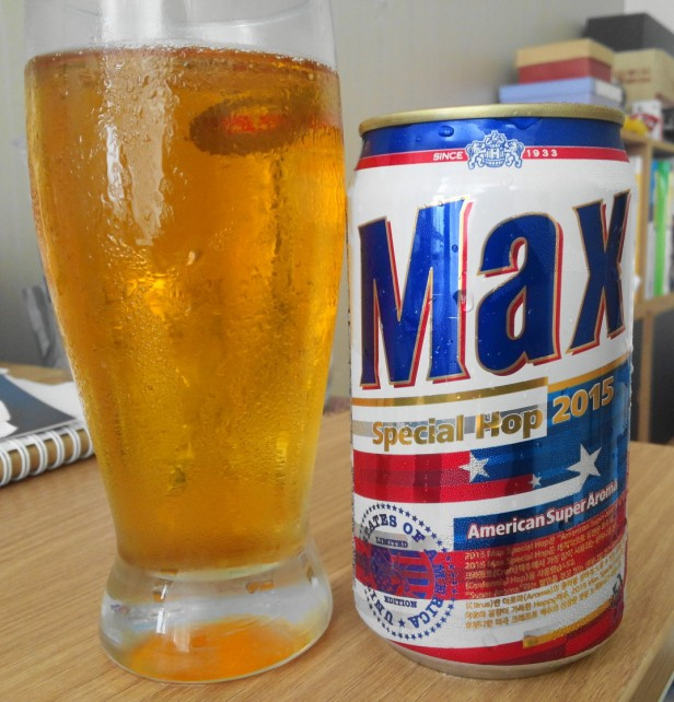 Max Special Hop 2015 Korean Beer American Super Aroma