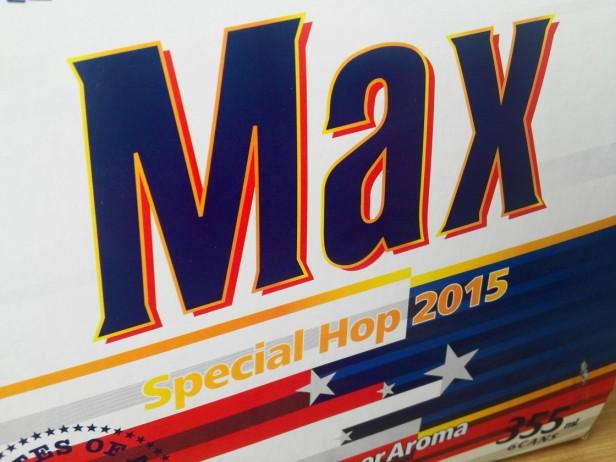 Max Special Hop 2015 Korean Beer box
