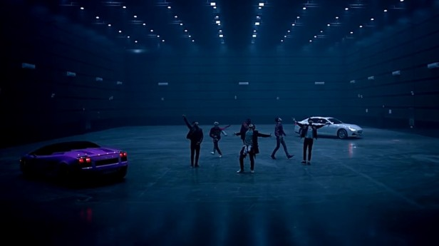 B.A.P Young Wild Free - supercars