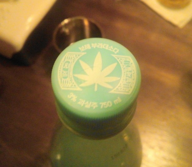 Brother Soda Korea bottle top 2