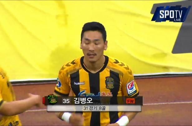 Chungju Hummel vs. Daegu K League Kim Byung-Oh