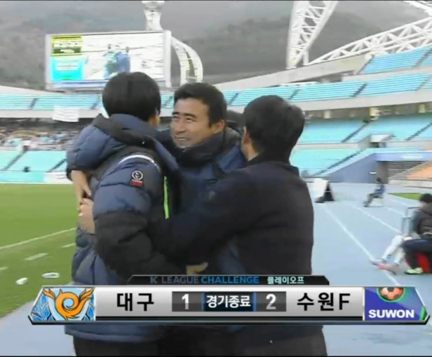 Daegu vs. Suwon City FC - Win