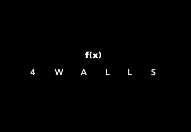 f(x) 4 Walls - Banner