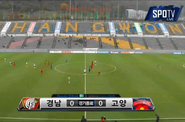 Gyeongnam vs. Goyang Hi Full Time Nov 2015