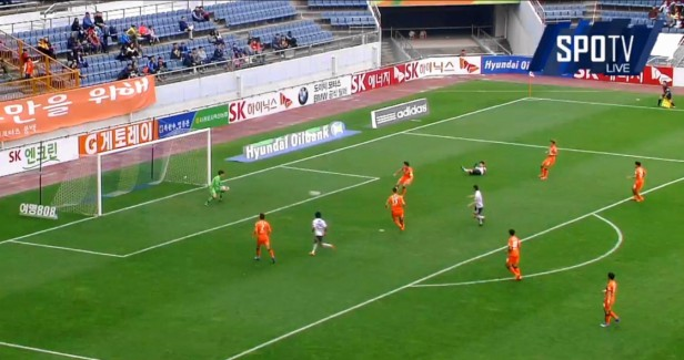 Jeju United vs. FC Seoul Japanese goal