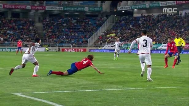 South Korea vs. Myanmar World Cup 2018 penalty