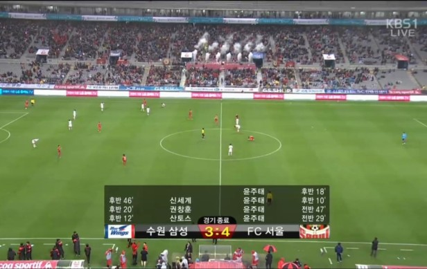 Super Match FC Seoul vs. Suwon Bluewings Full Time