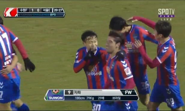 Suwon City FC vs. Seoul E-Land FC - japa
