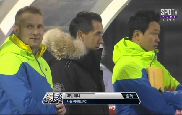 Suwon City FC vs. Seoul E-Land FC - martin rennie