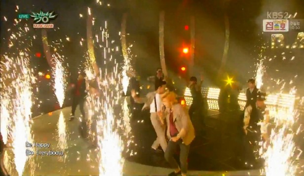 B.A.P Be Happy Live - Fireworks