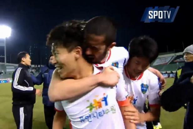 Busan I'Park vs. Suwon City 2nd leg suwon goal