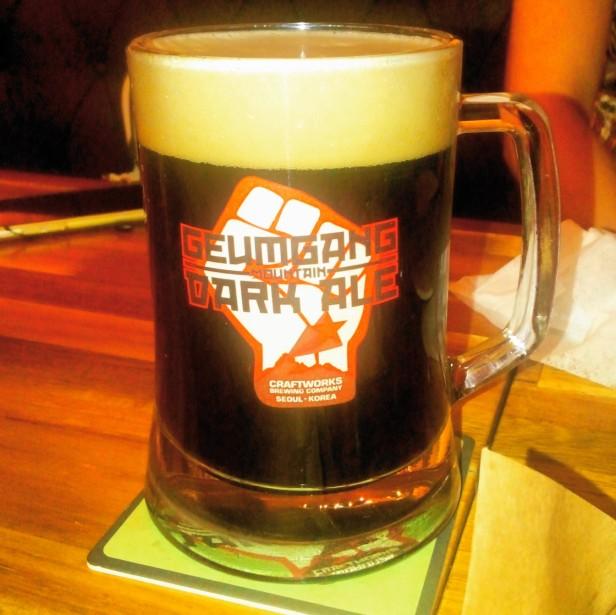 Craftworks Seoul geumgang mountain dark ale