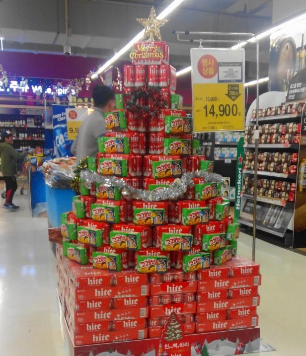 Hite Beer Christmas Tree 2015