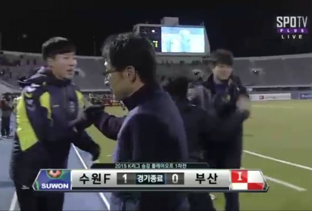 K League Playoff 1st Leg Result