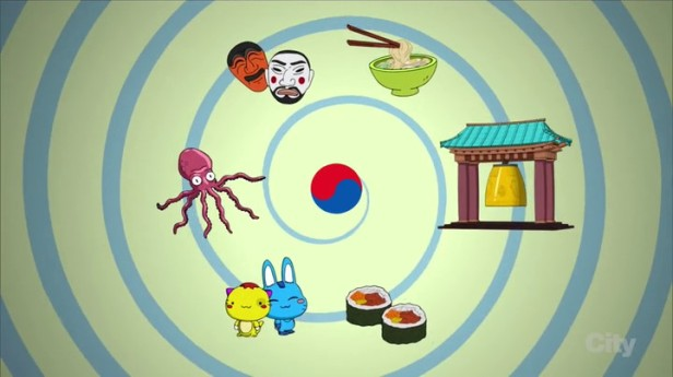 Family Guy Korean Episode Elements of Korean Culture