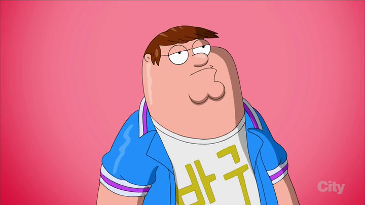 Family Guy Korean Episode Peter KPOP Pose