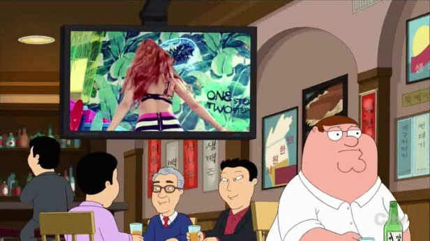 Family Guy Korean Episode Sistar Video
