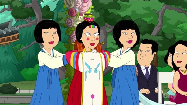 Family Guy Korean Episode Wedding Bride