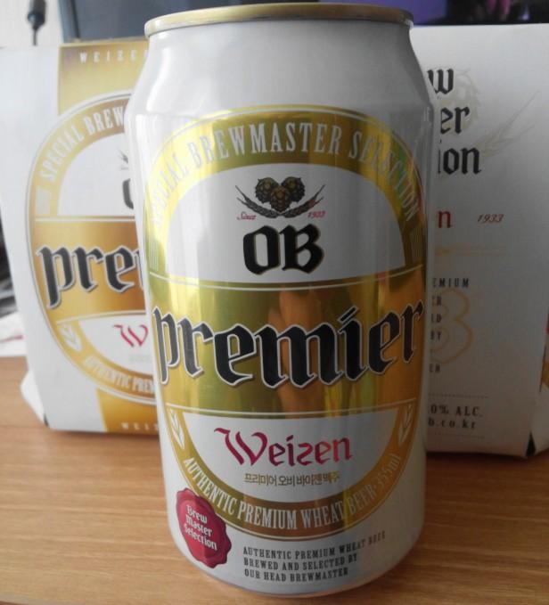 OB Premier Weizen can front