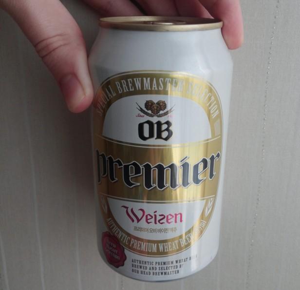 OB Premier Weizen can