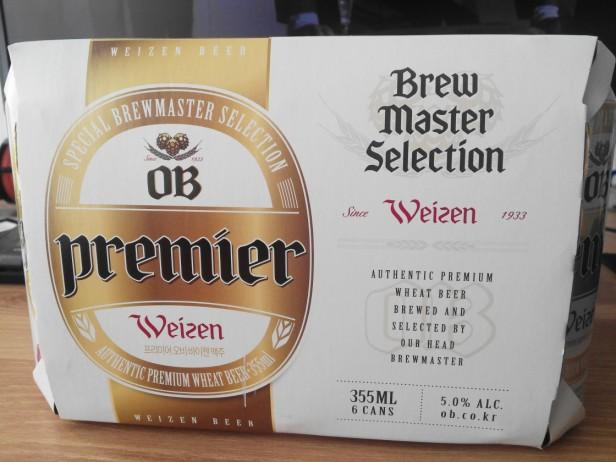 OB Premier Weizen pack info