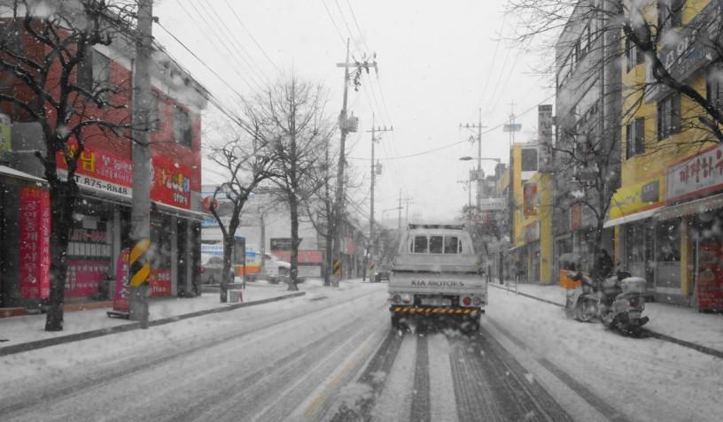 Snowy Guwol-Dong Incheon 2016