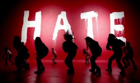 4minute hate - dance silhouette