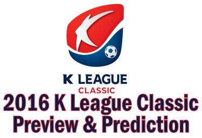 K League Classic 2016 Season Preview Prediction Banner