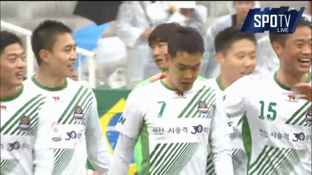 K League Challenge 26-3 Han Jiho Ansan