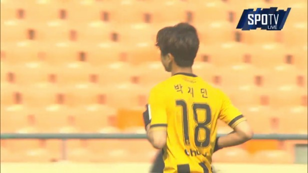 K League Challenge Sun 27-3 Park Ji Min Chungju