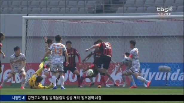 K League Classic 20-3 Osmar Goal FC Seoul