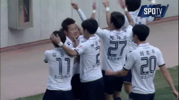 K League Classic 20-3 Pohang Goal 2