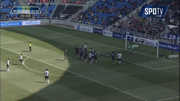 K League Classic 20-3 Pohang goal v Incheon