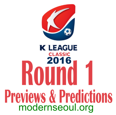 K League Classic 2016 Round 1 March 12th 13th banner