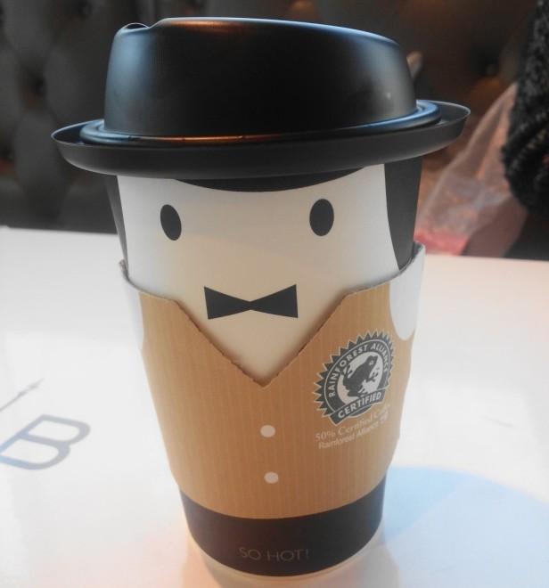Paris Baguette Coffee Suit Cup