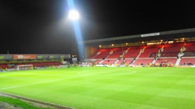The County Ground home of Swindon Town FC