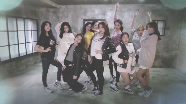 I.O.I Crush group