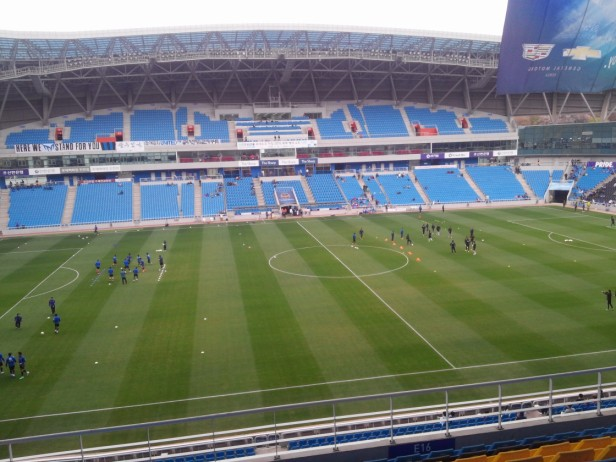 Incheon United v Suwon Bluewings action