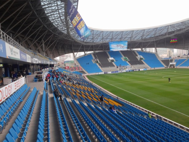 Incheon United v Suwon Bluewings east stand