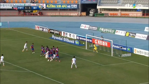 K League April 13th Last Minute attack Suwon Ulsan
