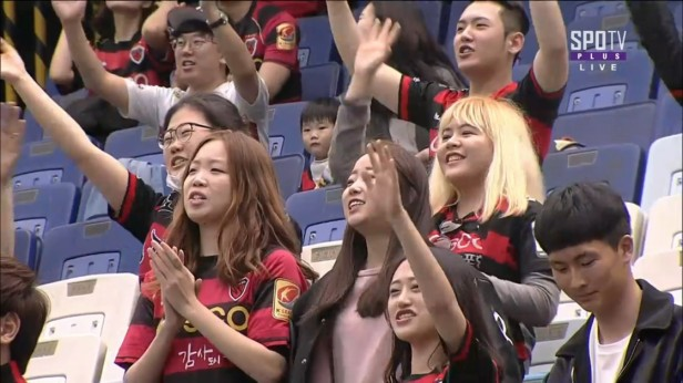 K League April 13th Pohang Steelers Fans