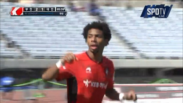 K League April 17th Bucheon Goal Waguininho