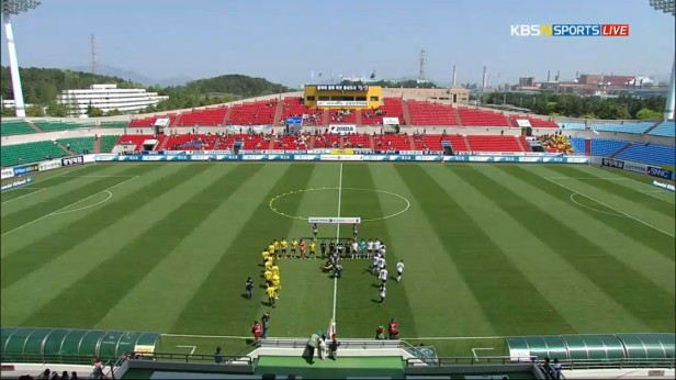 K League April 17th Jeonnam Dragons Stadium