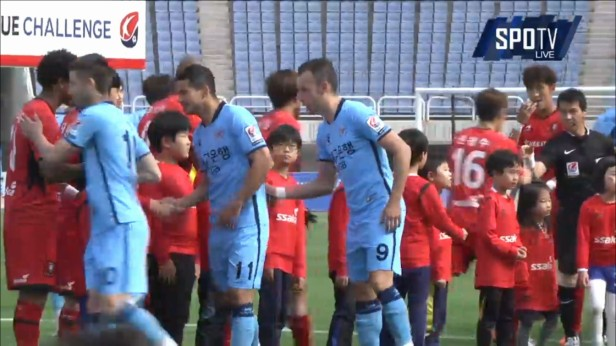 K League April 23 2016 Bucheon v Daegu