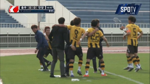 K League April 23 2016 Chungju Goal