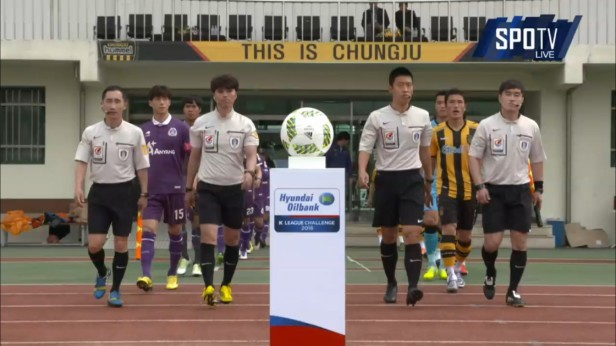 K League April 23 2016 Chungju v Anyang