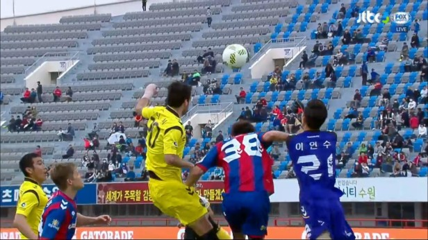 K League April 23 2016 Suwon City v Incheon 2